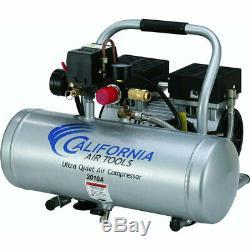 California Air Tools 2010A 1 HP 2 Gallon Ultra Quiet & Oil-Free Air Compressor