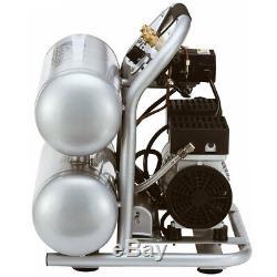 California Air Tools 4610S 1-Hp 4.6-Gallon Steel Tank Air Compressor