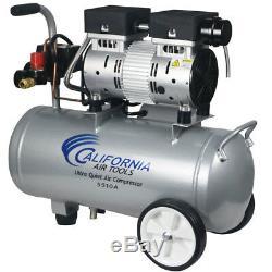 California Air Tools 5510A 1-HP 5.5-Gallon Aluminum Tank Air Compressor