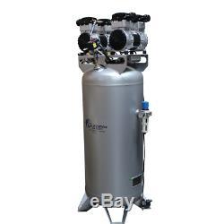 California Air Tools 60040CAD Ultra Quiet & Oil-Free 4-HP 60-Gallon Steel Tan