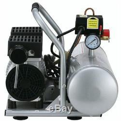 California Air Tools SP Ultra Quiet & Oil-Free 1-HP 2-Gallon Aluminum Tank Ho