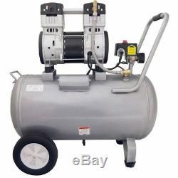 California Air Tools SP Ultra Quiet Oil-Free 2-HP 15-Gallon Steel Tank Air Co