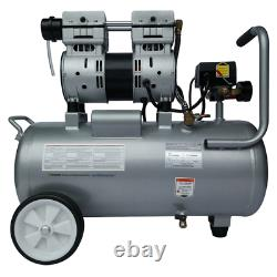 California Air Tools Ultra Quiet & Oil Free 1-HP 8-Gallon Aluminum Tank Air C