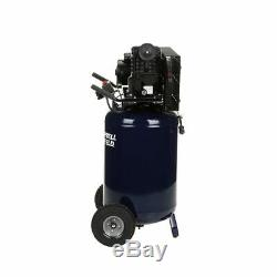 Campbell Hausfeld 2-HP 30-Gallon (Belt Drive) Dual-Voltage Cast-Iron Air Comp