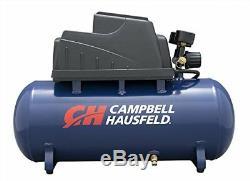 Campbell Hausfeld 3 Gallon, 110psi Air Compressor & 11pc Accessory Set Bundle
