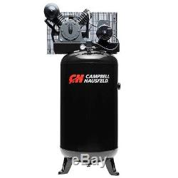 Campbell Hausfeld 5RHP 80Gallon Vertical 2Stage 1Phase Air Compressor CE3000 NEW
