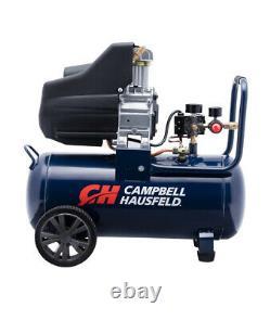 Campbell Hausfeld 8 Gallon Portable Oil Free Air Compressor 125 psi 1.3 hp Used