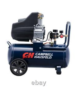 Campbell Hausfeld 8 Gallon Portable Oil Free Air Compressor 125 psi For Parts