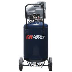 Campbell Hausfeld DC200100 20 Gallon Oil-Free Air Compressor, Home Garage Auto