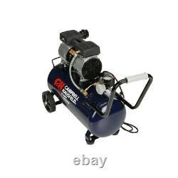 Campbell Hausfeld Quiet 1-HP 8-Gallon Portable Air Compressor