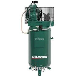 Champion 5HP 2-Stage 80-Gallon Air Compressor, Made in USA #8550-65DS
