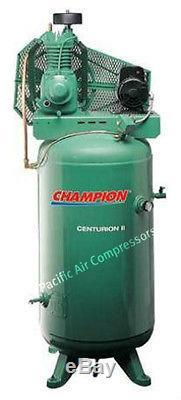 Champion VRV5-6 5hp, 1ph 60 gallon 2 stage USA MADE, Best Seller 19.1CFM