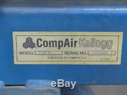 CompAir Kellogg B335UB Air Compressor 80 Gallon, 5HP