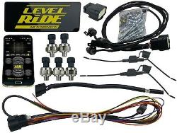 Complete Air Ride Suspension Kit Chevy 99-06 1500 Manifold Valve Bags 480 Chrome