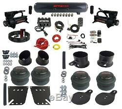 Complete Bolton Air Ride Suspension Kit 58-64 GM Cars Manifold Valve Bags Steel