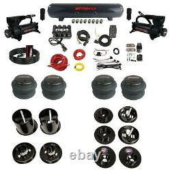 Complete Bolton Air Ride Suspension Kit 65-70 Cadillac Manifold Valve Bags Steel