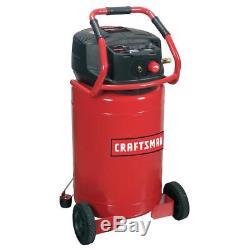 Craftsman 20 Gallon 1.8 HP Vertical Oil-Free Air Compressor 155 Max PSI