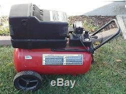 Craftsman Air Compressor 1.5 HP 120 VOLT 12 GALLON TANK OIL FREE