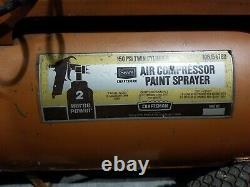 Craftsman Air Compressor 150 PSI 2 HP Portable 20 Gallon