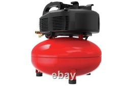 Craftsman Air Compressor, 6 Gallon, Pancake, Oil-Free (CMEC6150K)