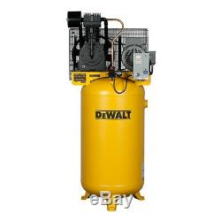 DEWALT 7.5 HP 80 Gallon Baldor Oil-Lube Air Compressor DXCMV7518075 New