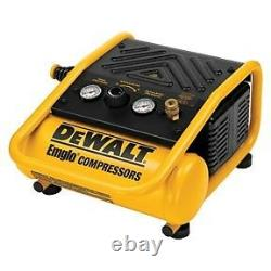 DEWALT #D55140 0.3 HP 1 Gallon Oil-Free Hand Carry Trim Air Compressor