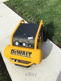 DEWALT D55146 1.6 HP, 4.5 Gallon Wheeled Portable Compressor