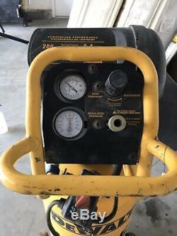 DEWALT D55168 15 Gallon Portable Electric Workshop Compressor working