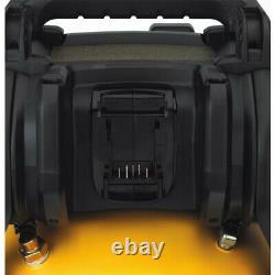 DEWALT DCC2560T1 60V MAX FLEXVOLT 2.5 Gallon Oil-Free Pancake Air Compressor New