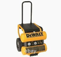DeWALT D55154 1.1 HP 4 Gallon Electric Air Compressor Twin Stack + Free Shipping