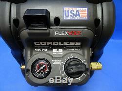 DeWALT Tools DCC2560 60-Volt MAX FLEXVOLT 2.5 Gallon Air Compressor & Charger