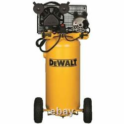 DeWalt 1.6-HP 20-Gallon Belt-Drive (Dual Voltage) Cast Iron Air Compressor 1