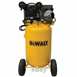 DeWalt 1.6-HP 30-Gallon Belt-Drive (Dual Voltage) Cast Iron Air Compressor 1