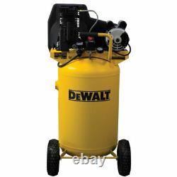 DeWalt 1.9-HP 30-Gallon (Belt-Drive) Dual Voltage Cast-Iron Air Compressor 1