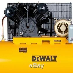 DeWalt 10-HP 120-Gallon Two-Stage Air Compressor (230V/460V 3-Phase)