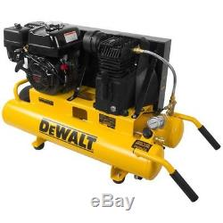 DeWalt 5.5-HP 8-Gallon (Belt Drive) Gas Wheelbarrow Air Compressor with Honda E
