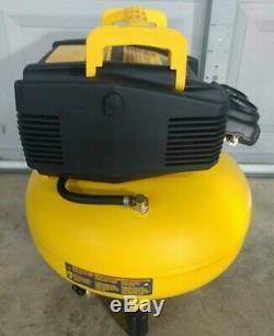 DeWalt 6 Gallon Oil-Free Pancake Air Compressor Model# DWFP55126