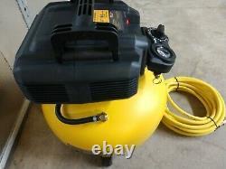 DeWalt 6 Gallon Oil-Free Pancake Air Compressor with 25' Air Hose Model# DWFP55126