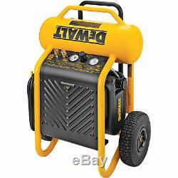 DeWalt D55146 225 Psi 4.5 Gallon Oil Free High Pressure Low Noise Compressor