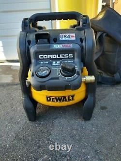 DeWalt DCC2560 2.5 Gallon 135PSI Max Cordless Flexvolt Air Compressor -Tool Only