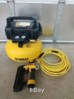 DeWalt Heavy Duty 6 Gallon Air Compressor Combo Kit Model# DW1KIT18PP