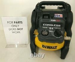 Dewalt DCC2560 60V MAX 2.5 Gallon Cordless Air Compressor, P
