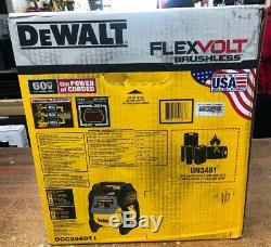 Dewalt DCC2560T1 60V MAX 2.5 Gallon Cordless Air Compressor