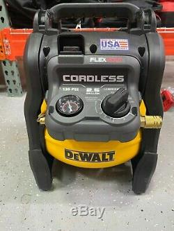 Dewalt DCC2560T1 60V MAX 2.5 Gallon Cordless Air Compressor (Tool Only) NEW