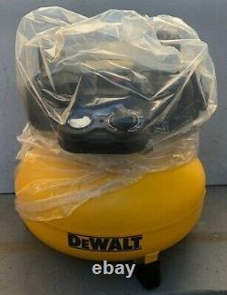 Dewalt DWFP55126 Heavy Duty 6-Gallon 165 PSI Pancake Compressor, 2.6SCFM/90PSI