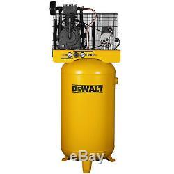 Dewalt DXCMV5048055 5-HP 80-Gallon Two-Stage Air Compressor (230V 1-Phase)