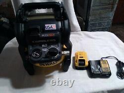 Dewalt Dcc2560 60v Max Flexvolt 2.5 Gallon Cordless Brushless Air Compressor