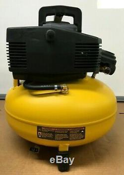 Dewalt Dwfp55126 Pancake Style 6 Gallon 165 Psi Air Compressor Gl007