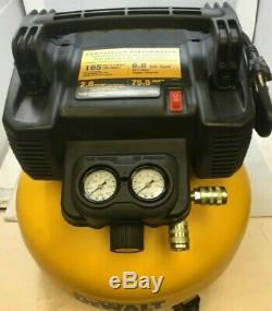 Dewalt Dwfp55126 Pancake Style 6 Gallon 165 Psi Air Compressor, Md210