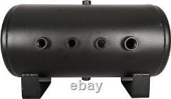 Dual HornBlasters HornAir Replacement Train Horn Air Compressor Tank 5 Gallon